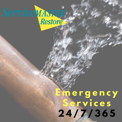 ServiceMaster Burst pipe emergency services